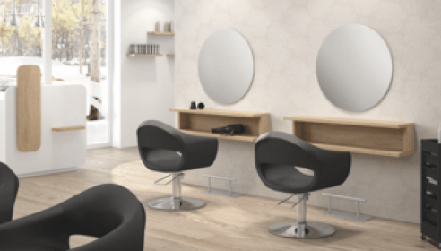 Fully Equipped Hair Salon